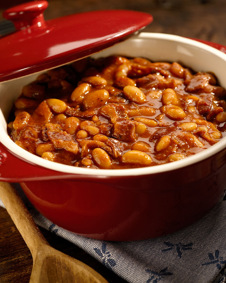 Barbecued Baked Beans from the Big Green Egg | Patio ...
