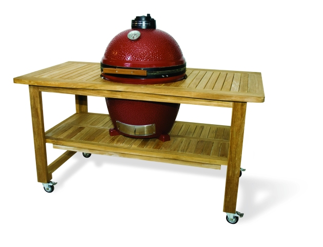 Bakes Knowing Diy Kamado Grill Table Plans
