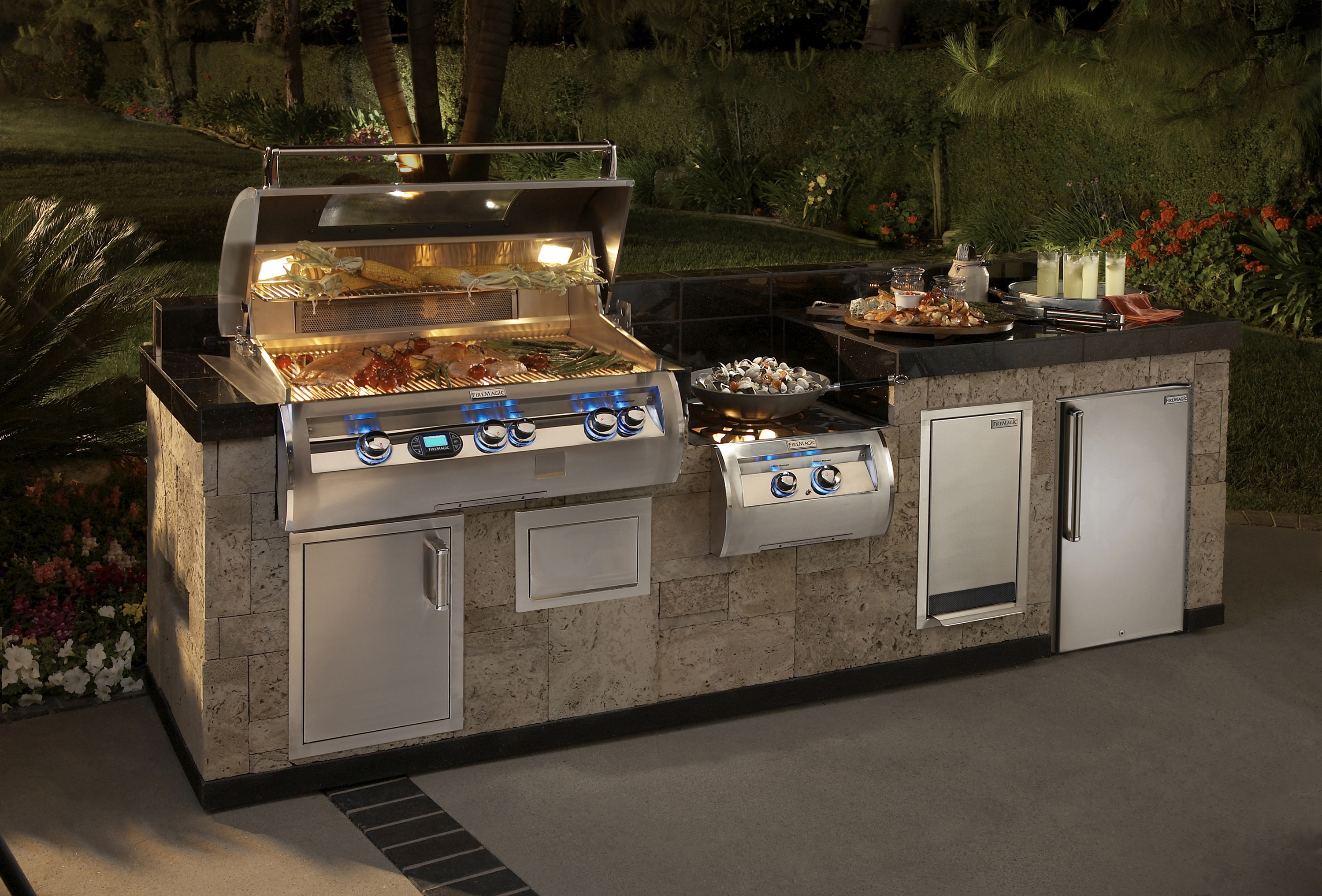 Design Outdoor Kitchen Online Twin Eagles Premium Grills Wildwood Outdoor Living Premium Outdoor