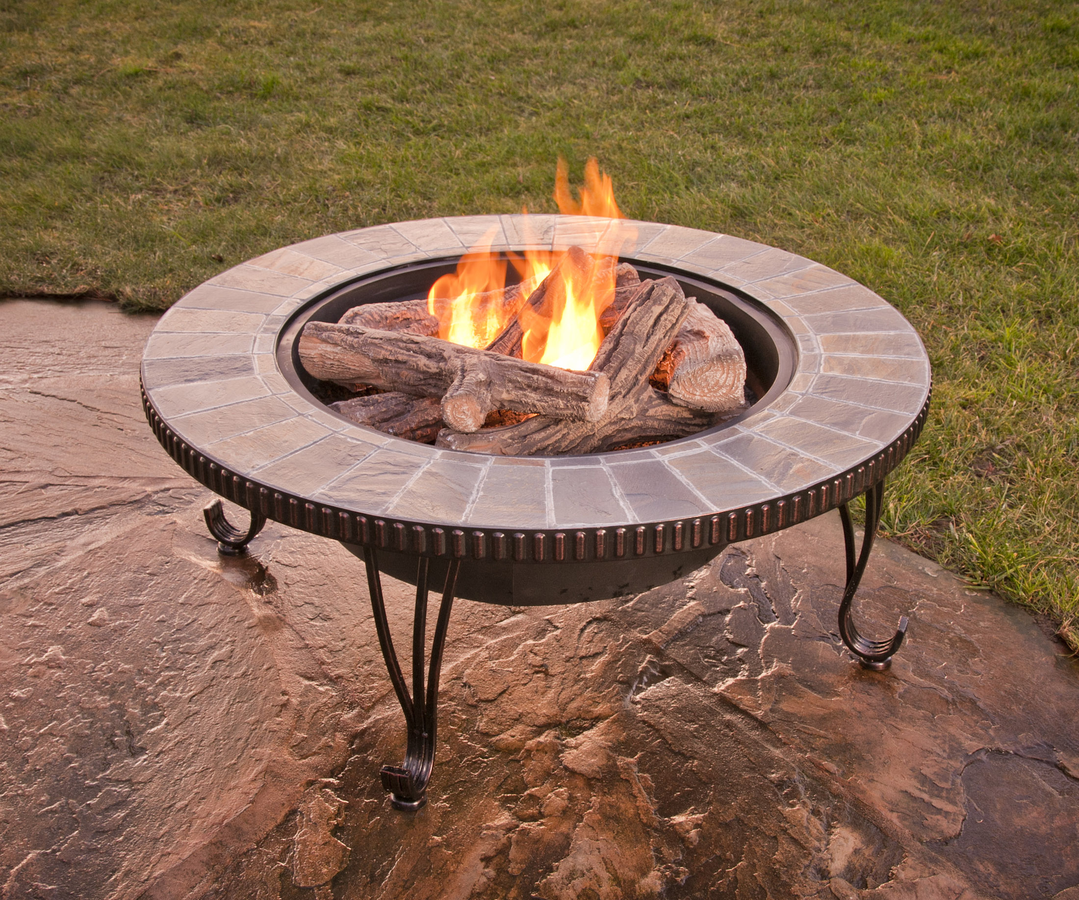 Environmentally friendly flames patio hearth blog for Alcohol fire pit