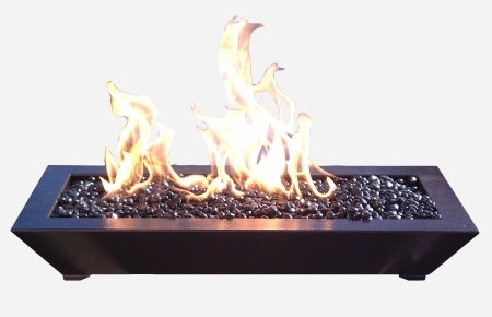 Paramount fireplace burner from American Fireglass