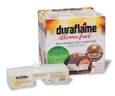 The Duraflame Illuma Fireplace log set