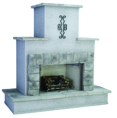 Ventless Traditional-design Outdoor Fireplace from Bull Outdoor