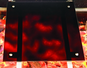 Ceramic Glass Infrared Panel from Broilmaster