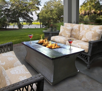 The Monterey fire table by California Outdoor Concepts
