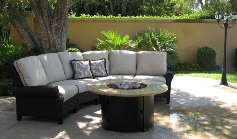 Patio Renaissance's Monterey Crescent Sofa