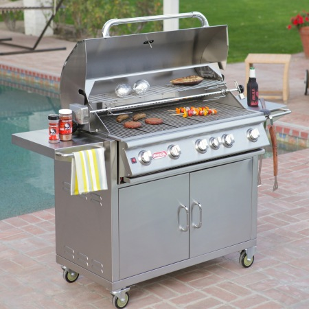 Brahma Grill Cart from Bull Outdoor Products