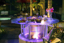 Image Result For Gas Fire Pit With Glrocksa
