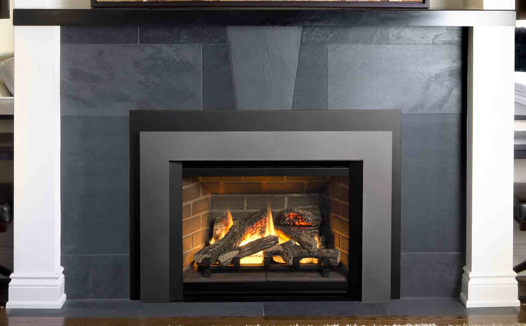 gecalsa inserts valor fireplace with of perfect decoration