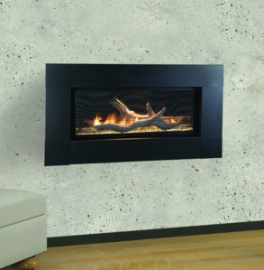With its vent free design, the Artisan fireplace can be installed just about anywhere.
