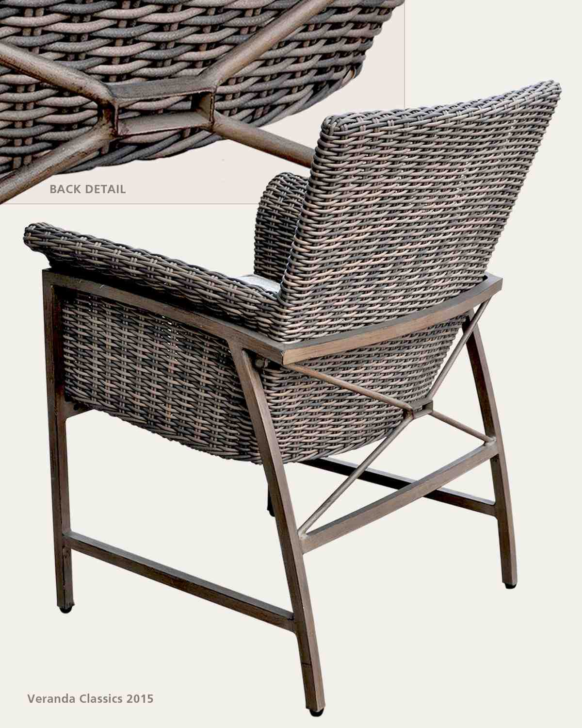 Merveilleux The Rio Dining Chair Details Finely Crafted Mixed Media And Exposed  Aluminum. Frame