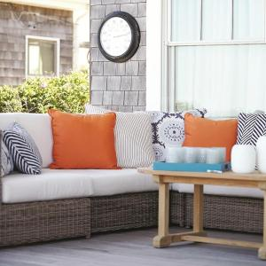 "Interior designer Kate Jackson chose Sunbrella Fabrics as her ""perfect solution"" for the modern family home."