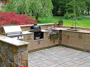 Danver Stainless Outdoor Kitchens are manufactured in the United States.