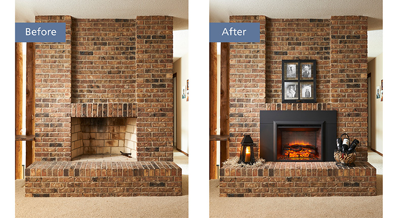 The Process Behind Choosing An Electric Fireplace Patio