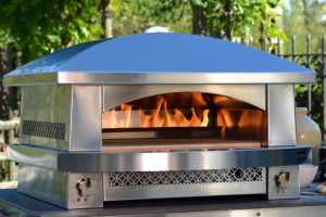 The Artisan Fire Pizza Oven from Kalamazoo Gourmet.