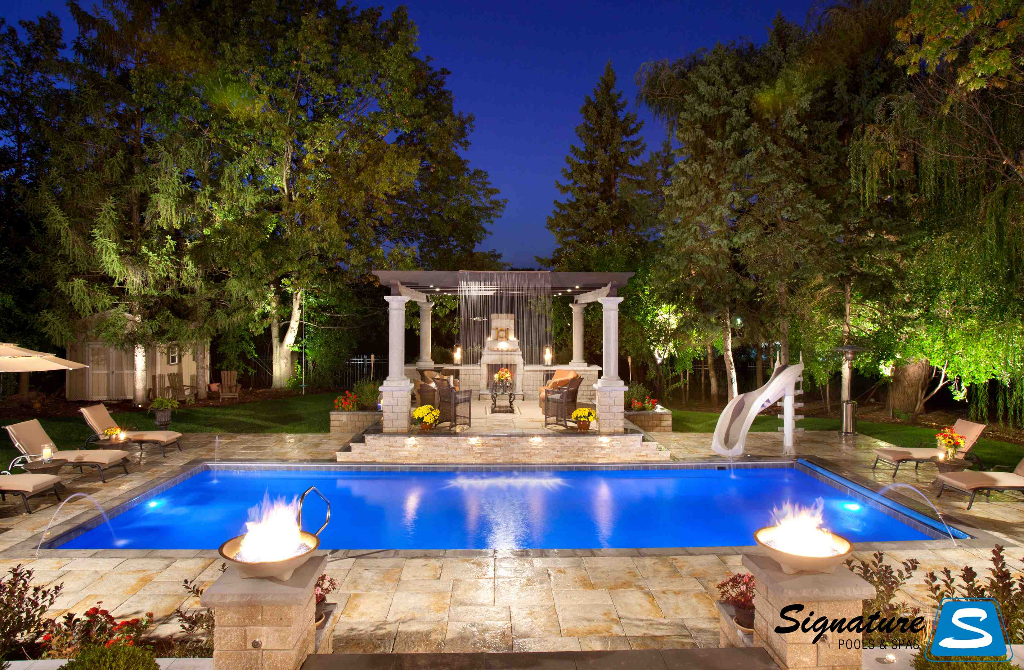 Ten tips for selling luxury backyards patio hearth blog - Luxury swimming pools ...