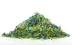 Shavings from HDPE lumber are recycled.