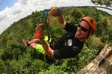 BJ Hogge Ziplining